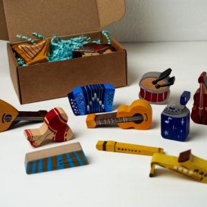 Деревянные игрушки «Музыкальные инструменты»